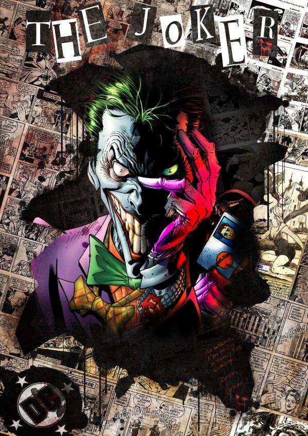 Joker Collage Art Hektik Design Interactive Media