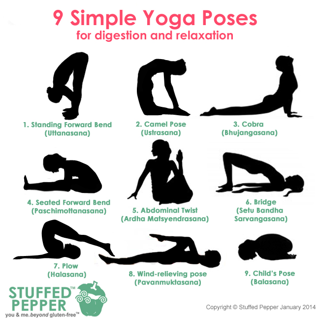 9 Simple Yoga Poses for Digestion and Relaxation