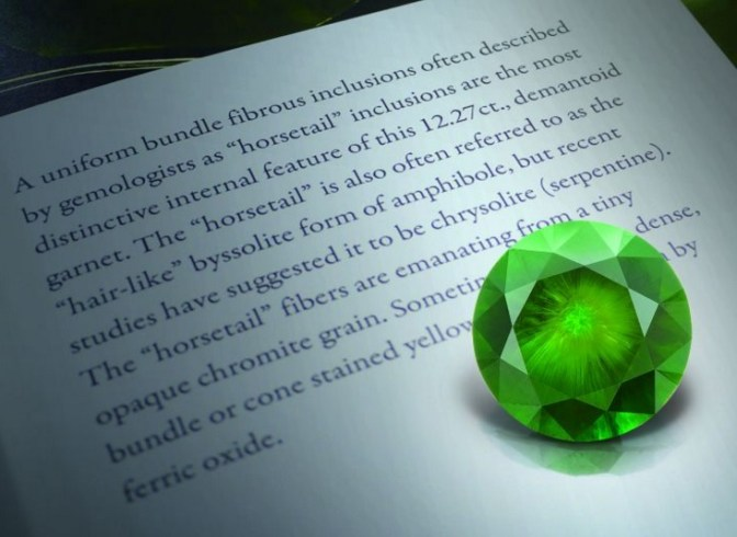 世上最閃耀的綠色寶石 — 翠榴石 – HKJE