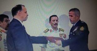 الرائد ثائر القرالة تخرج من كلية القيادة والأركان الملكية - (فيديو)