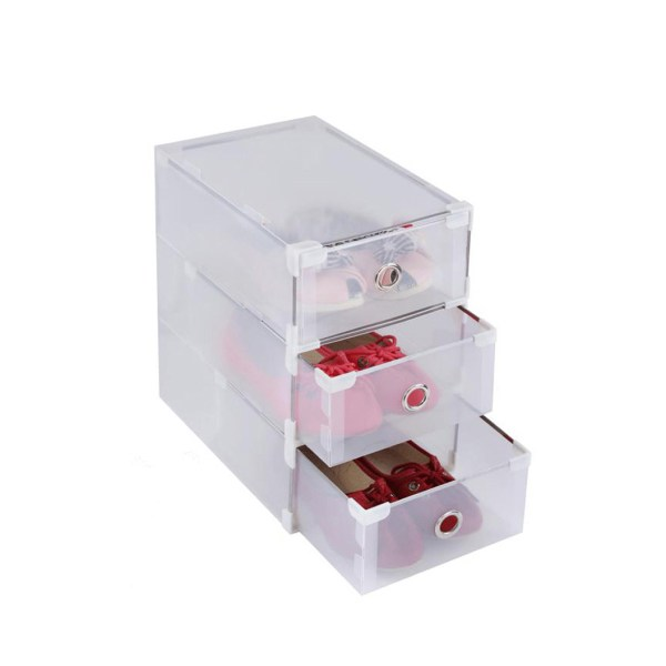 Clear Plastic Shoe Drawer Boxes