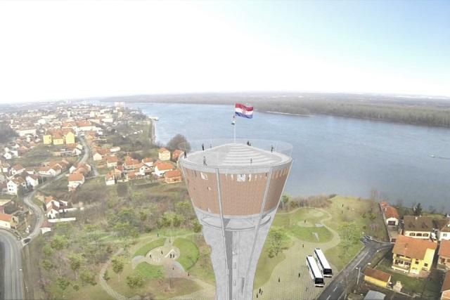 The Vukovar Water Tower By Brian Gallagher Vukovarski