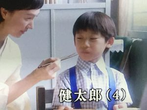 べっぴんさん 健太郎 子役 南岐佐 画像