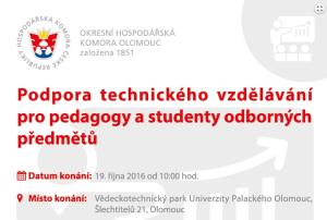 Seminář pro pedagogy a studenty odborných předmětů