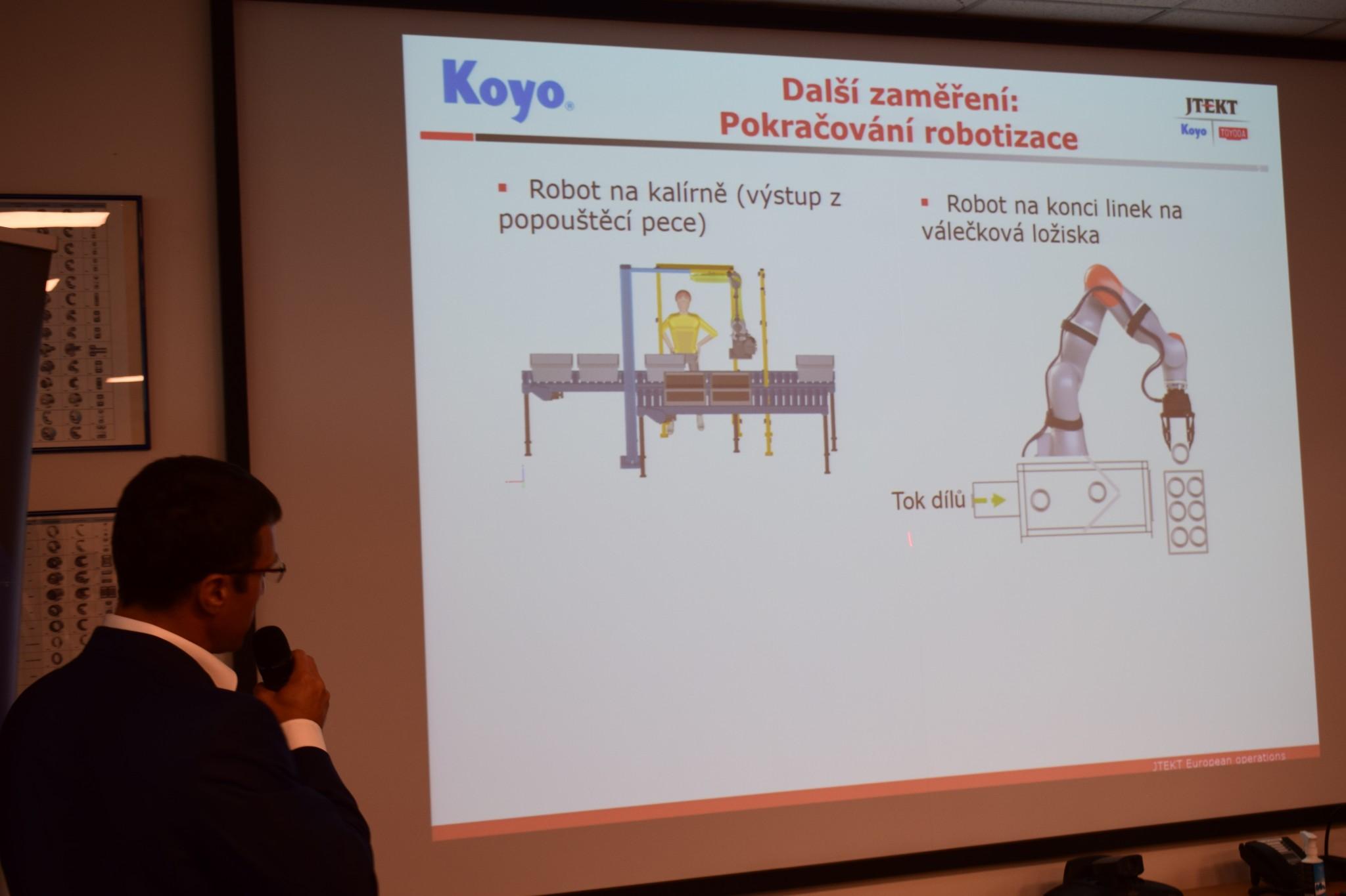 OHK Olomouc a Koyo Bearings zahájili v regionu osvětu na téma tzv. průmyslu 4.0
