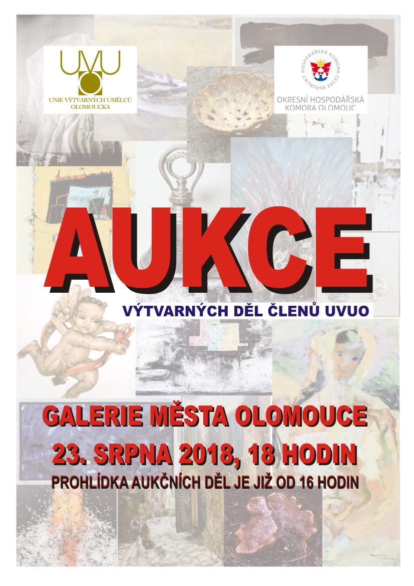 Aukce výtvarných děl členů UVUO