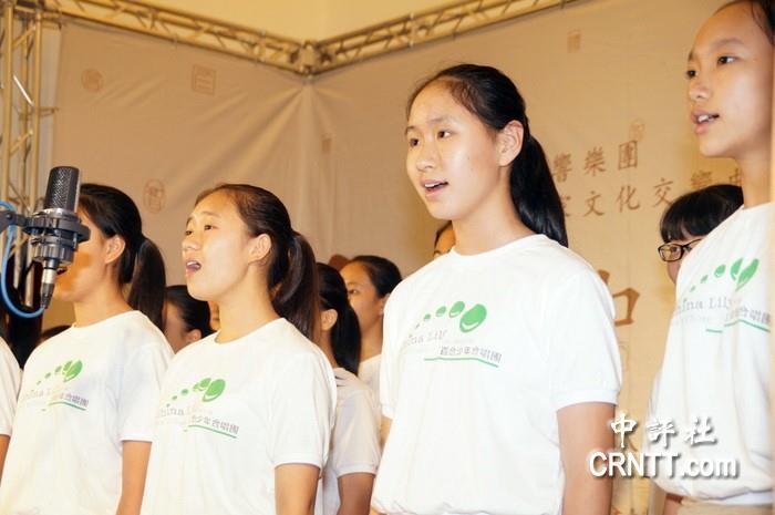 臺中惠明盲生的精神 感動了深圳來的孩子