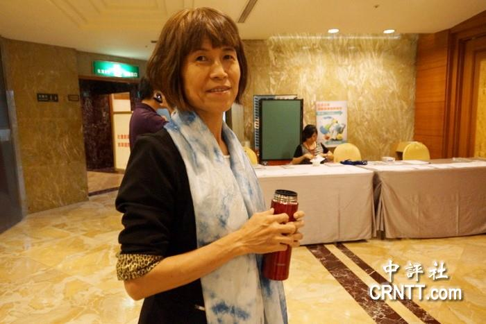 中國評論新聞:出版界奇女子 洪美華談當年勸進蔡英文從政