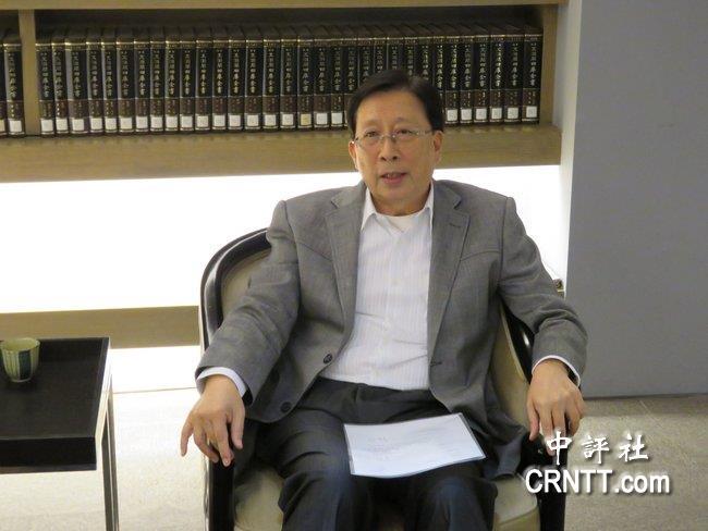 劉兆玄語中評:臺灣去中華文化是很嚴重的