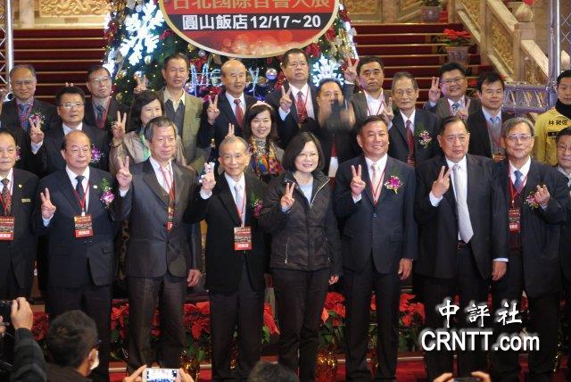 臺北音響展發燒 蔡英文趕場搶人氣