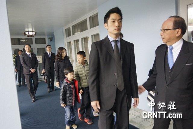 蔣萬安:參選接受民主洗禮祖父蔣經國會欣慰