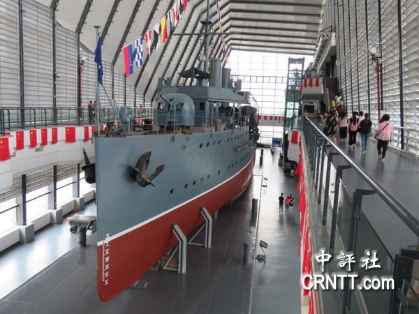 中評現場:中山艦博物館見證八年抗戰血淚史