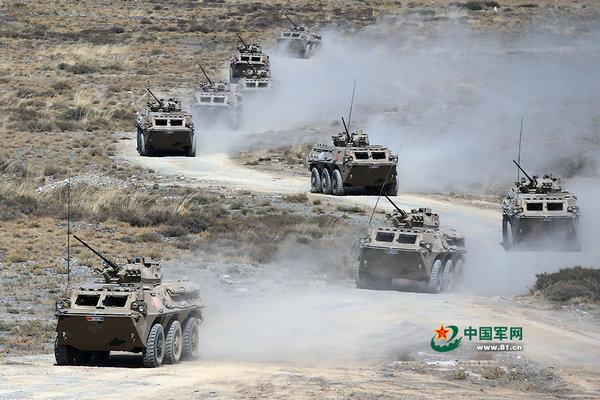 上合軍演最後一戰:解放軍重武器火力全開
