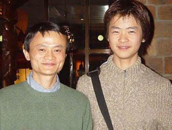 馬雲25歲兒子,近照好帥