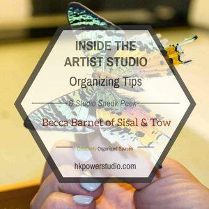 Artists Studio Organization, Becca Barnet