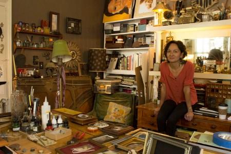 Hirona Matsuda at her Home Studio