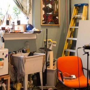 In the Studio with Morgan Santander