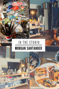 In The Studio with Morgan Santander
