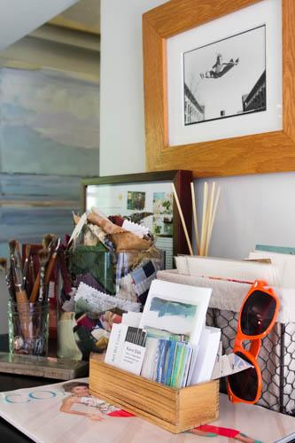 Karin's studio inspiration