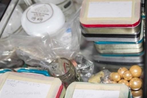 Altoid Tin storage