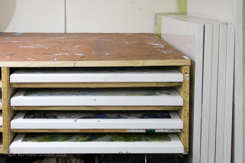 art canvas storage