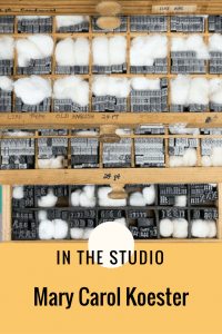 Art Studio Organizing-Mary Carol Koester