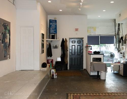 Tim Hussey Art Studio Organization