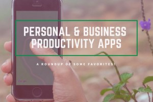Apps with a focus on Personal and Business Productivity