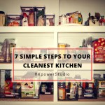 7 Simple Steps to your Cleanest Kitchen (Special Holiday Post!)