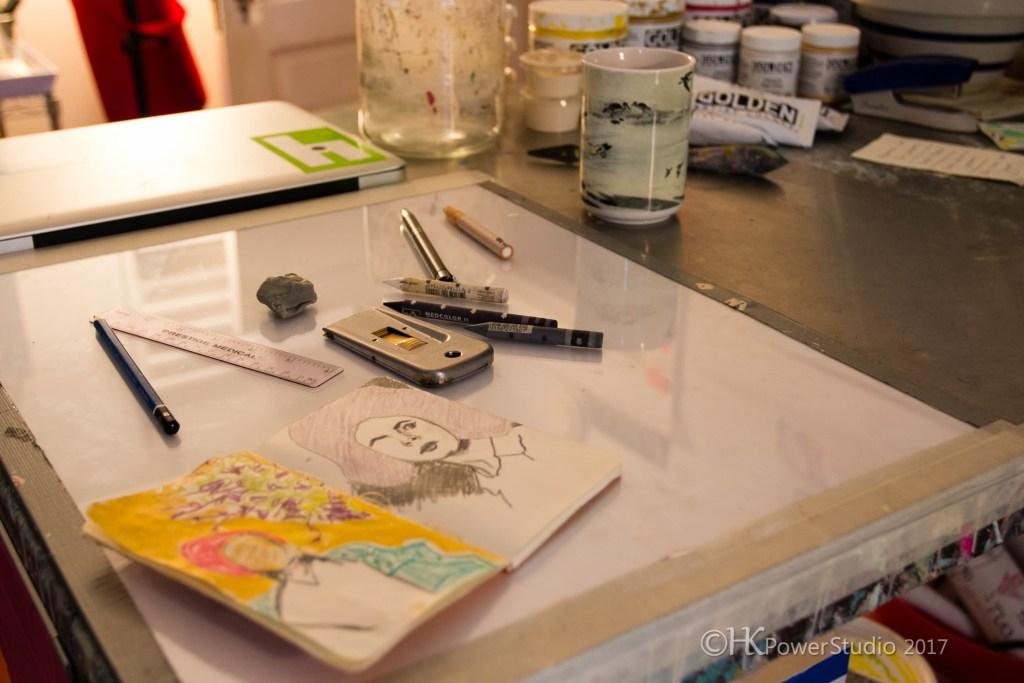 Chambers Austelle Organized Studio