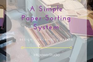 paper sorting