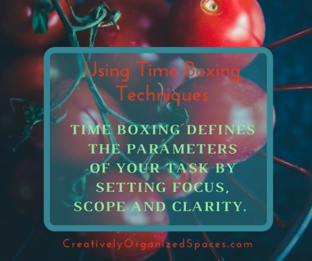 Time Boxing Techniques