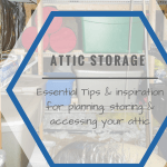 Attic storage inspiration, before the holidays!