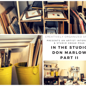 In the Studio with Don Marlowe