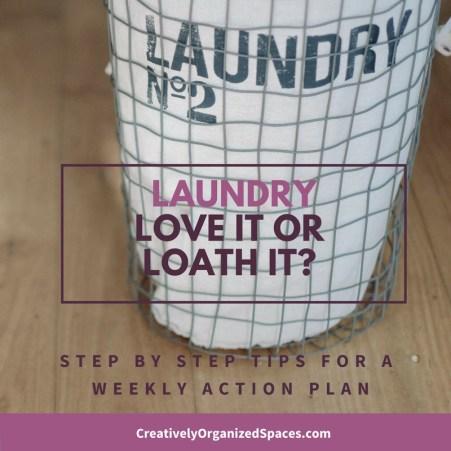 Loving or Loathing Laundry