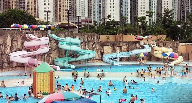 【香港滑水梯大集結】 - 香港人遊香港