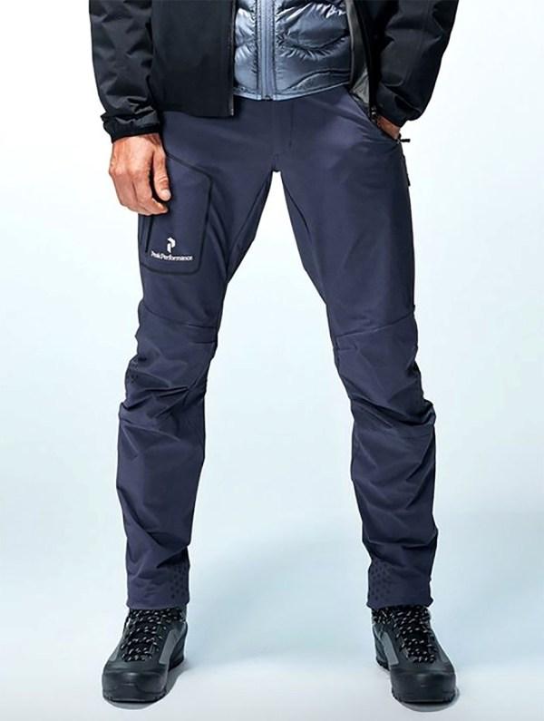 Peak Performance Black Light Soft Shell Pants Dark Slate