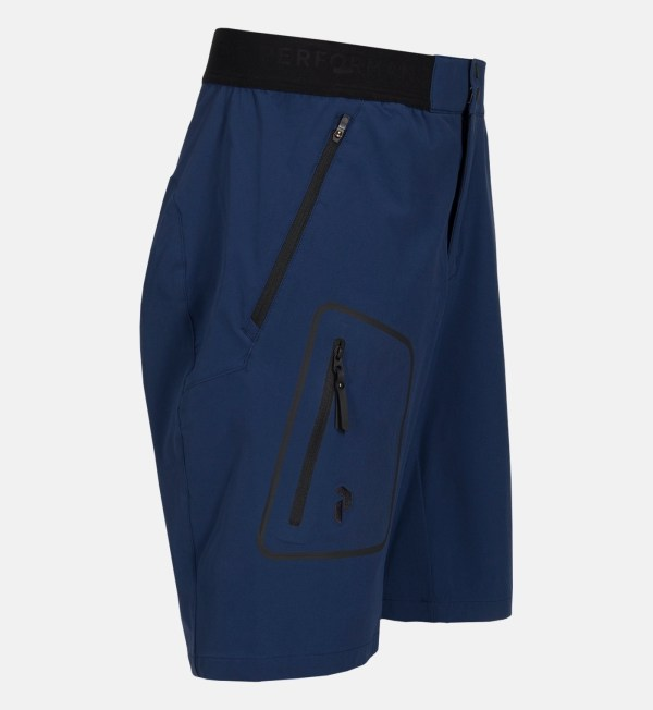 Peak Performance Ligth Soft Shell Shorts Thermal Blue