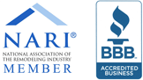 HK Construction is Member of NARI and BBB A+ Rating in Bathroom Remodeling