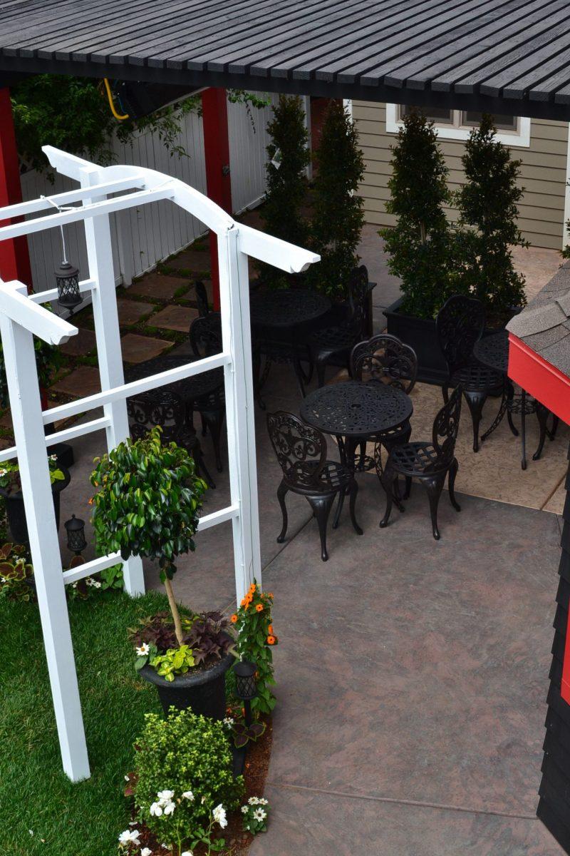 HK Remodel custom concrete patio