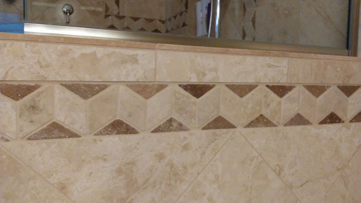 Custom Shower Wall Tile