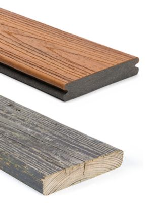 trex vs. wood