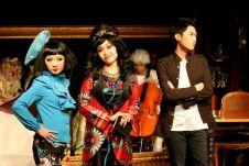 Rosalind Wong (Justine), Minna Cheung (Pamela) and Christopher Tsui (Sebastian)