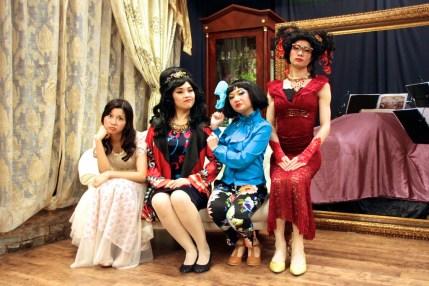 Joyce Cece Chan (Henriette), Minna Cheung (Pamela), Rosalind Wong (Justine) and Francis Chan (Bernice)