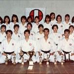 本會女童軍道場舉行賽後祝節會 Celebration in the Girl Guides Dojo after the tournament