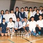 本會參賽運動員合共奪得十四座冠、亞、季軍獎杯  Members of our Association won the first prizes, second prizes and third prizes -- altogether fourteen trophies in the tournamen