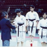 本會囊括女子高級組套拳冠、亞、季軍成績  Members of our Association won all the 1st, 2nd and 3rd prizes in the girl's senior kata competition