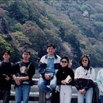 集訓隊攝於嵐山風景區  The training team at Arashiyama