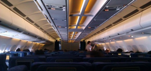 Fairly empty flight