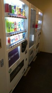 Vending Machines, including hot food